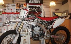 450 YZF 2011 BLANC